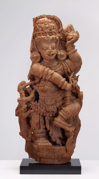 AGNSW collection A door guardian (Dvarapala) 16th century-17th century
