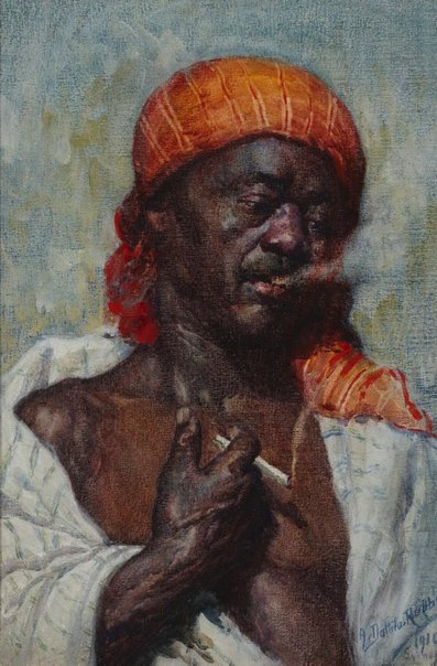 An image of A Moroccan by Antonio Dattilo-Rubbo