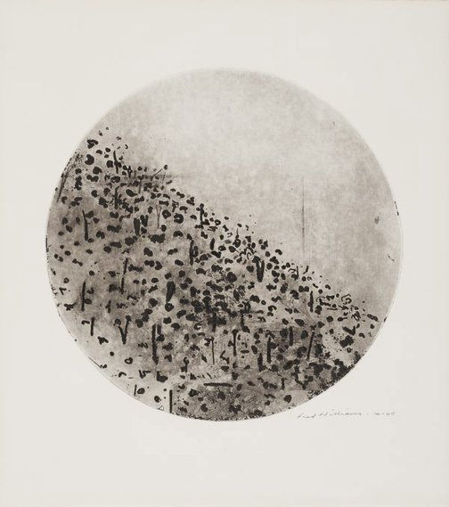 An image of Circle landscape, Upwey by Fred Williams
