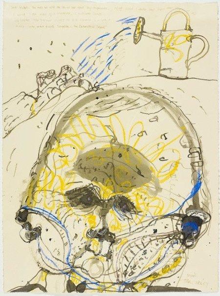 An image of Miró by John Olsen