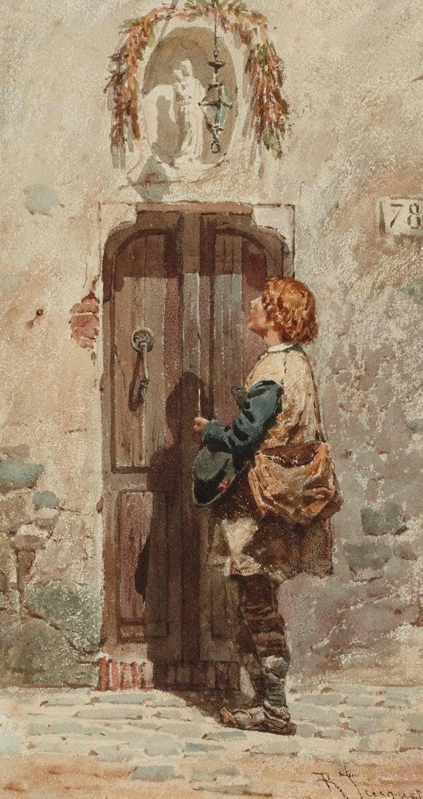 An image of Seeking shelter