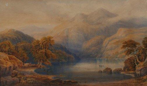 An image of Loch Katrine by SC Jones
