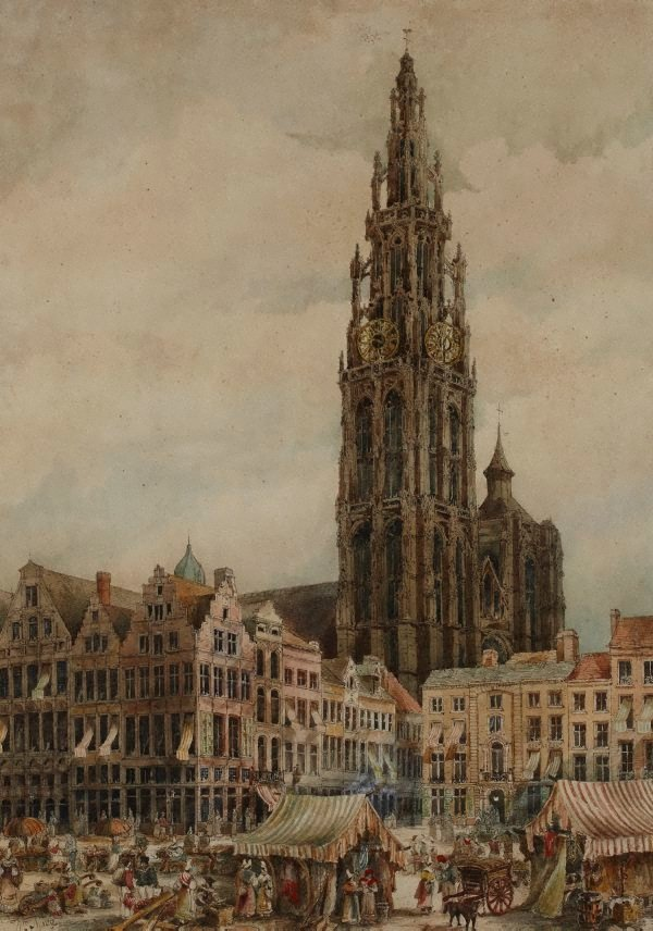 An image of Antwerp Cathedral