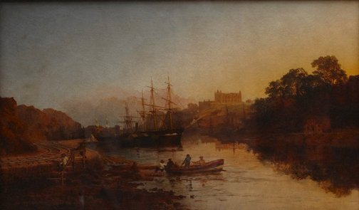 An image of Whitby Harbour by Edmund John Niemann