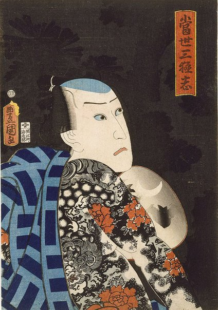 An image of Contemporary tale of the three heroes by Utagawa Kunisada/Toyokuni III