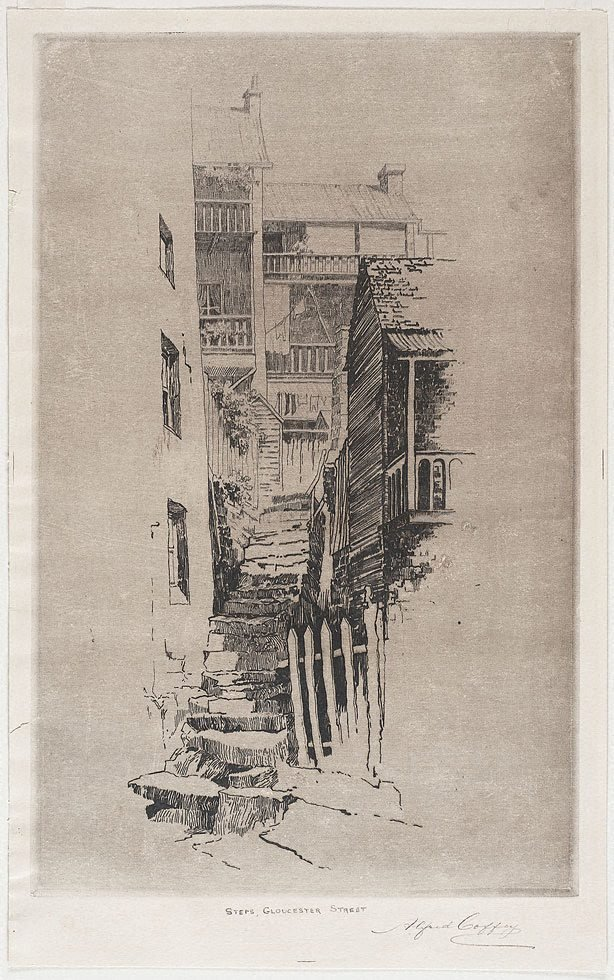 An image of Steps, Gloucester st