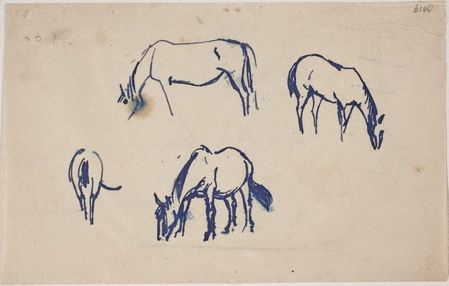 An image of (Horse studies) (London genre)