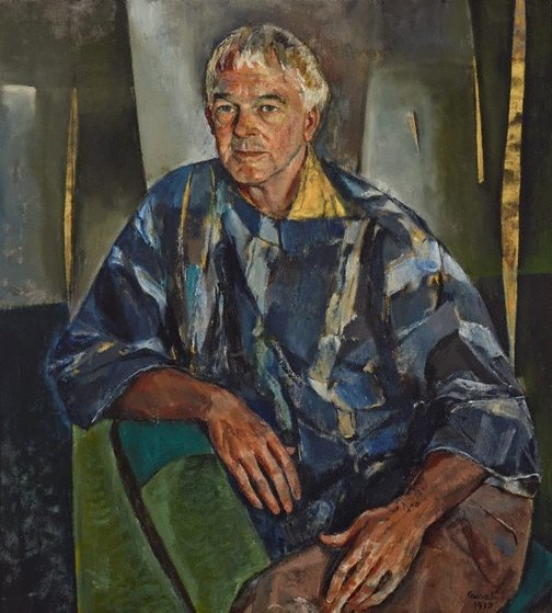 An image of Portrait of Hal Missingham by Judy Cassab