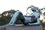 Alternate image of Reclining figure: Angles by Henry Spencer Moore