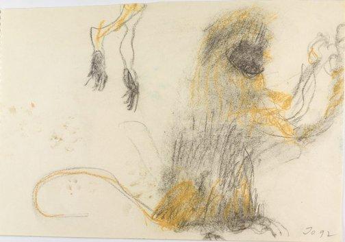 An image of Monkey by John Olsen