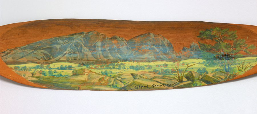 Alternate image of Woomera (Untitled Landscape) by Albert Namatjira