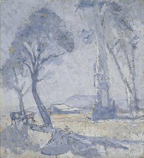 An image of Morning mists by Horace Trenerry