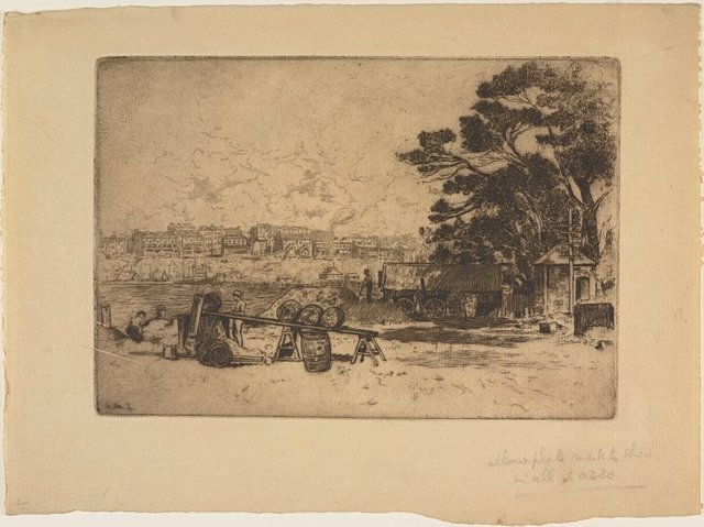 An image of The council yard, McMahon's Point