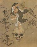 Alternate image of Hell Courtesan (Jigoku-dayū) by Kawanabe Kyōsai