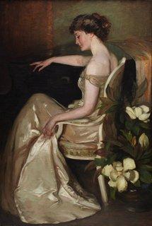 Dian dreams (Una Falkiner), 1909 by Violet Teague