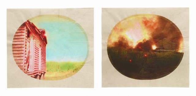 An image of Plantation (Diptych No. 2)