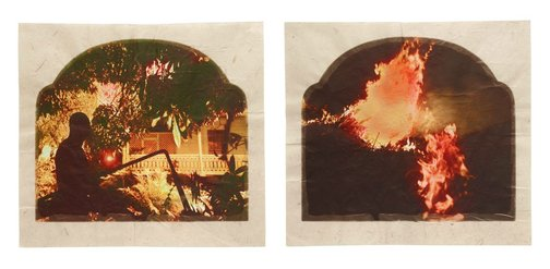 An image of Plantation (Diptych No. 10) by Tracey Moffatt