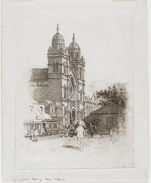 An image of The Synagogue by John Hall Thorpe