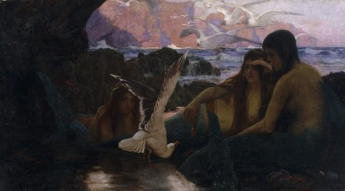 An image of Mermaids by Albert Hanson