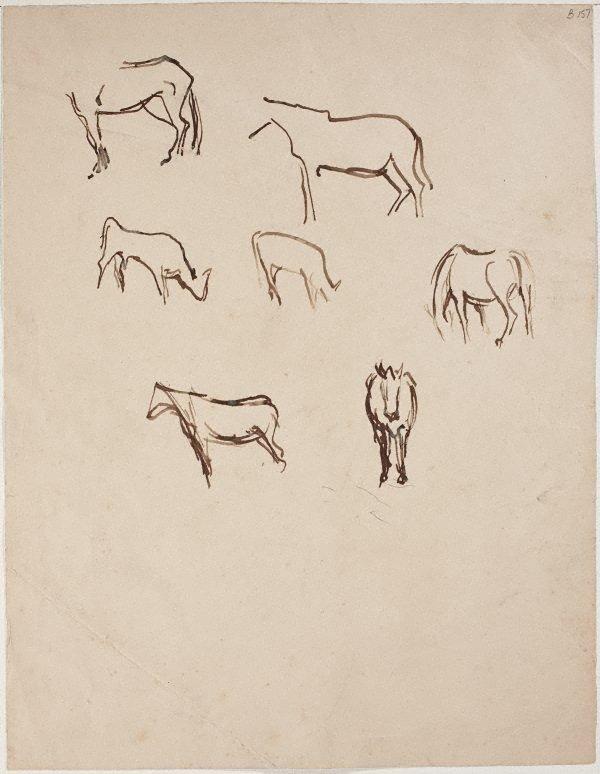 An image of (Horse studies) (London genre)