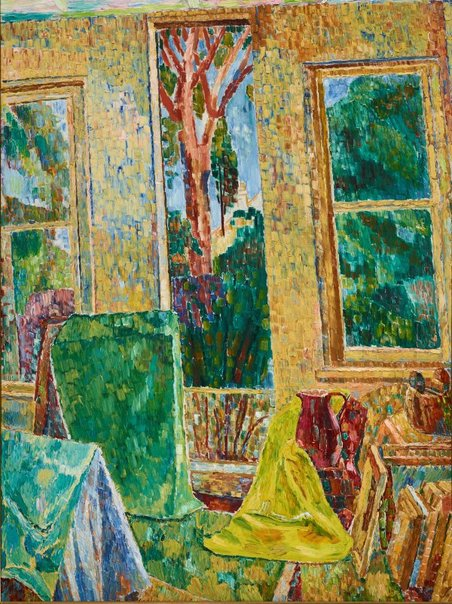 An image of The window by Grace Cossington Smith
