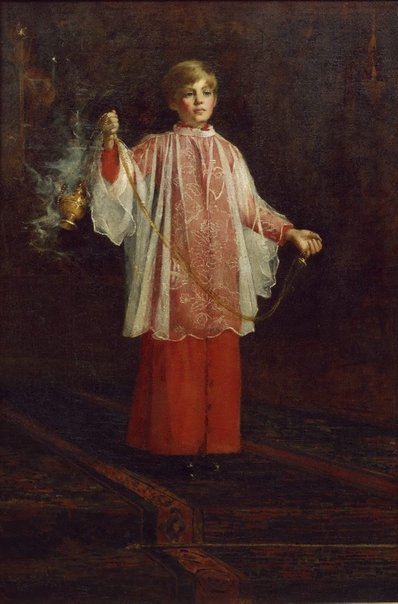 An image of The Acolyte by George Walton