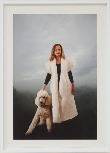 AGNSW collection Anne Graham Julie and Cloud (2014) 609.2014.a-c