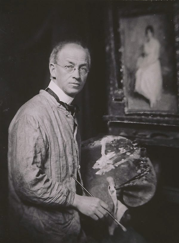 An image of Untitled (Portrait of Norman Carter, artist)