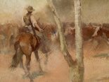 Alternate image of Rounding up a straggler by Frank Mahony