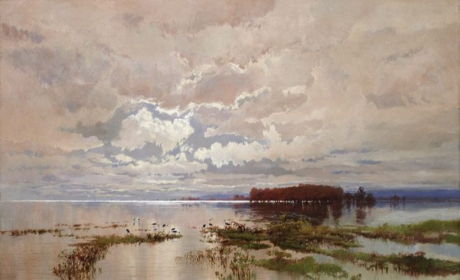Alternate image of The flood in the Darling 1890 by WC Piguenit