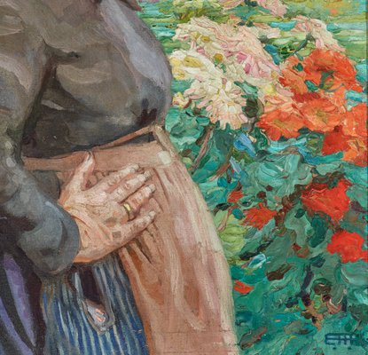 Alternate image of Grand mère by Hilda Rix Nicholas