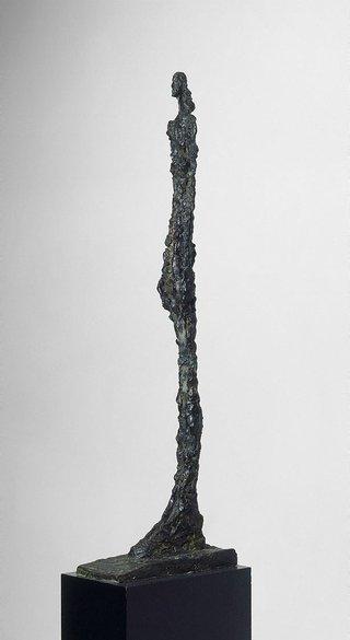 AGNSW collection Alberto Giacometti Woman of Venice VII (1956) 612.1994