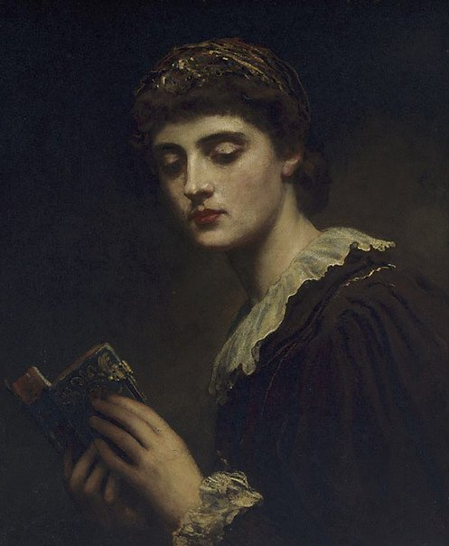 An image of Lesbia by James Sant