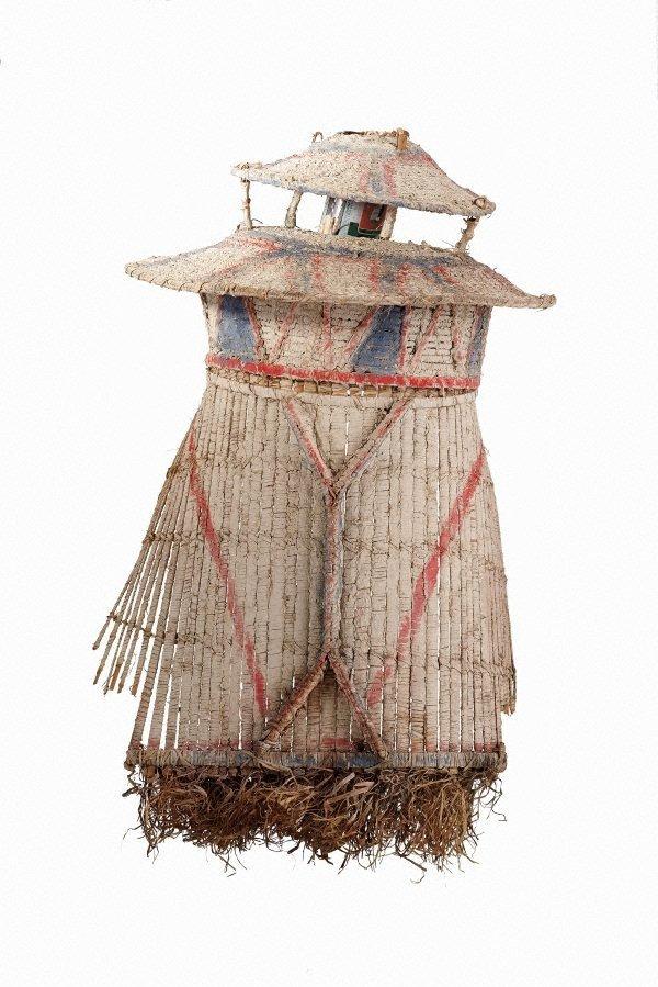 An image of Rimbu (ceremonial headdress)