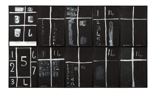 An image of Teaching aids 2 (July) by Colin McCahon