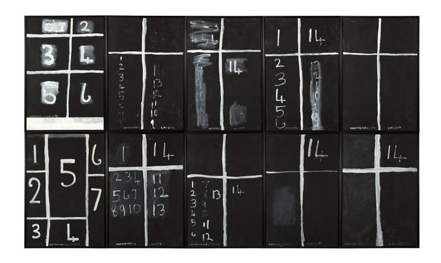 Teaching aids 2 (July), (1975) by Colin McCahon