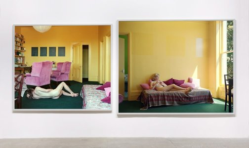 An image of Summer afternoons by Jeff Wall