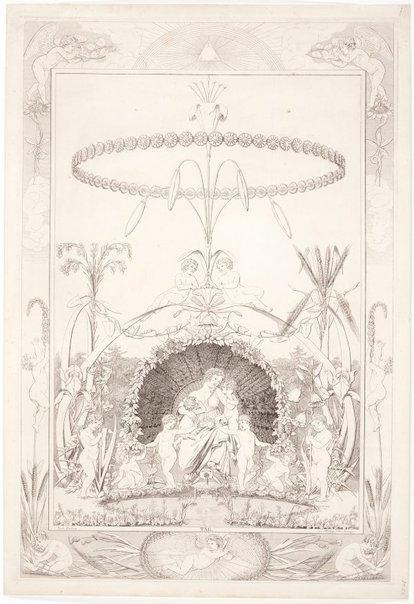 An image of Day by Johann Gottlieb Seyfert, after Philipp Otto Runge