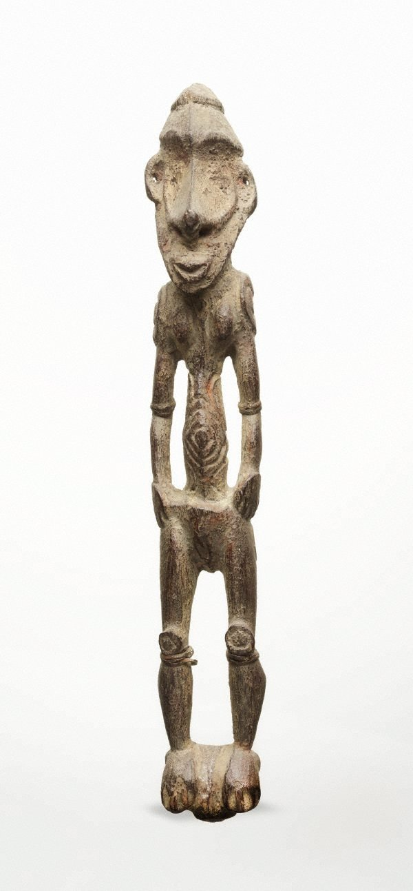 An image of Female figure (arms at sides)