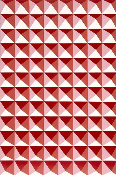 An image of Cubist op art special by Mike Brown