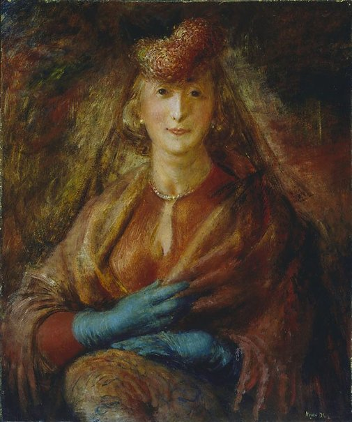 An image of Portrait of Thelma Clune by William Dobell