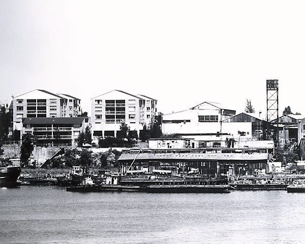 An image of Rozelle Bay: Glebe Point 1980