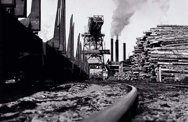An image of Tasman Pulp and Paper Mill, New Zealand