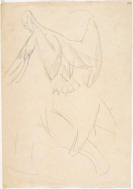 An image of (Bird studies) (London genre) by William Dobell