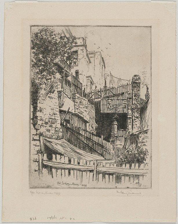 An image of Old Sydney, Rocks