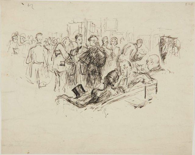 An image of (Art Exhibition) (London genre)