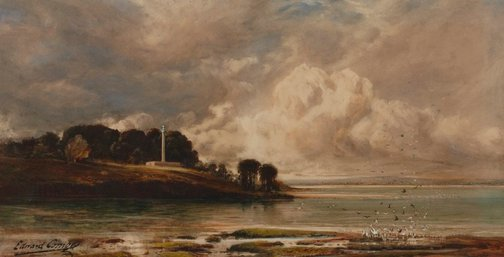 An image of La Perouse, Botany Bay by Edward Combes