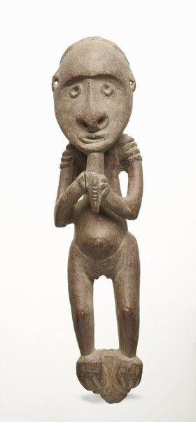 An image of Female figure by attrib. Biwat people