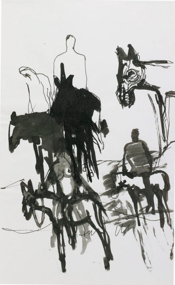 An image of Figures and donkeys (Spain)