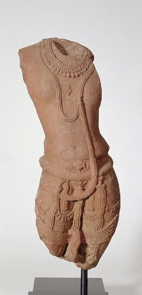 An image of Torso of a male divinity